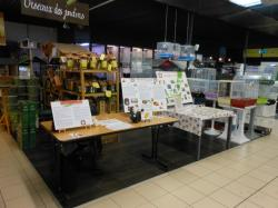 Stand magasin vert betton